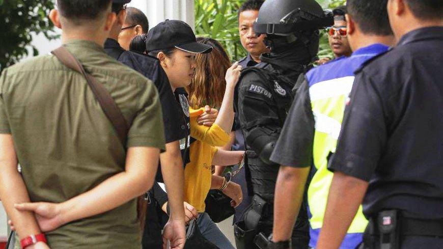 馬來西亞法院3月1日分別拘提涉嫌毒殺金正男的兩名女嫌,並控以謀殺罪名,圖為越南籍的段氏香。(翻攝網路) 「受過訓練的殺手」 大馬以謀殺罪起訴毒殺金正男兩女嫌