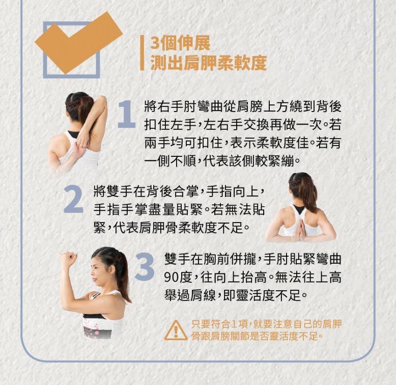 肩胛骨柔軟術 2招小動作「痠痛、虎背」通殺