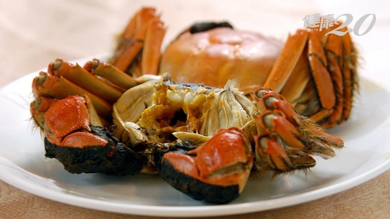 誤吃戴奧辛毒蟹 趕快吃這些食物可以加速排毒