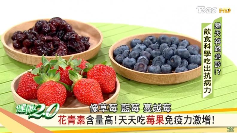 天天吃莓果免疫激增  感冒、口破、腫瘤都退散!