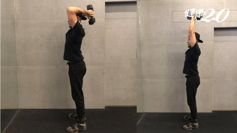 不只甩掉鬆垮蝴蝶袖!3個肌力動作,雕塑手臂線條