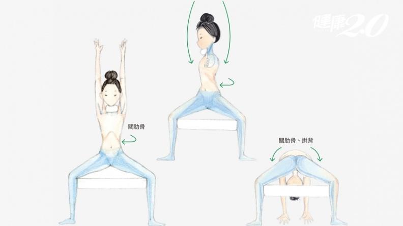 OL看過來!跟著Kimiko「姿勢回正」,全身消水腫、練出美人曲線