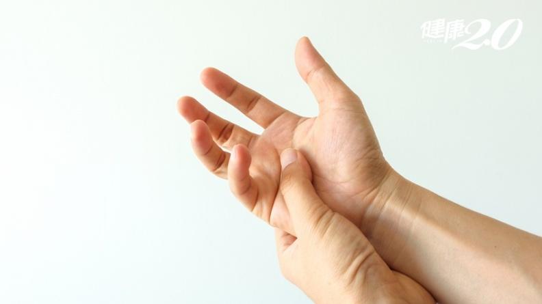 大拇指與手腕好痛!「媽媽手」易與三疾病混淆,一招簡易測出