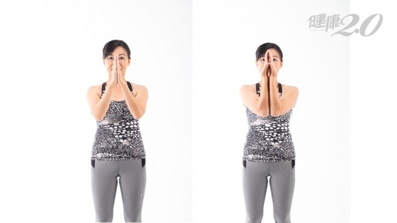 低頭族、電腦族必做!1個動作測手腕關節,找出腰痠背痛的原因