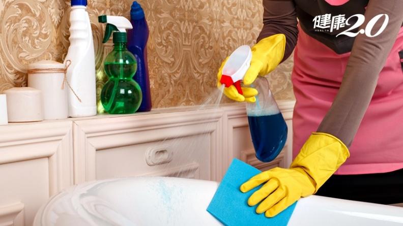 陰雨綿綿清毒去霉 小心清潔品混用可能產生毒氣