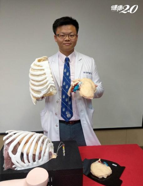 肺癌患者福音!擬真肺葉教具會噴血、呼吸,讓醫師手術更精進純熟