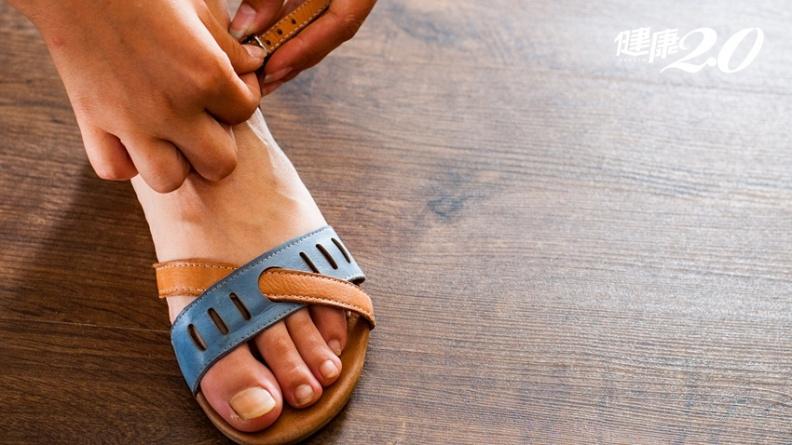 1招挑涼鞋,走路省力不痠痛!3步驟選鞋子,擁有健康步態