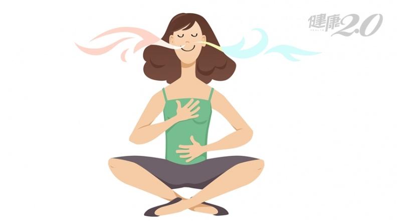 歎氣可自淨、促血循!醫生都在學「1比2呼吸法」,讓自律神經恢復正常
