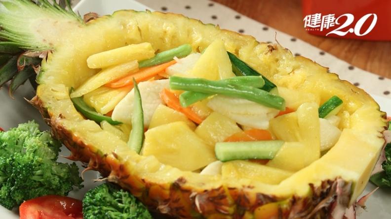 鳳梨藥食兼優!夏至暑氣逼人 中醫師私房料理「果香拼盤」開胃消食