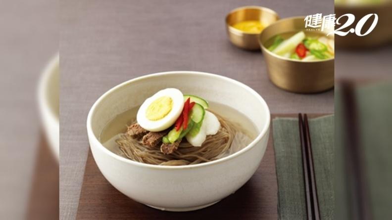 這道美食暑氣全消!超清爽「韓國冷麵」開胃透心涼