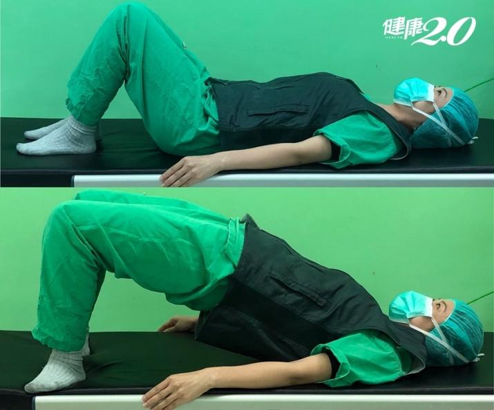 練深蹲臀沒翹、腿卻變粗?醫師教2招「躺著運動」 有效練出蜜桃臀