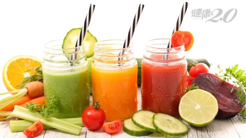 歐美正盛行「間歇性斷食」 3杯鹹甜蔬果汁助排便又甩贅肉!