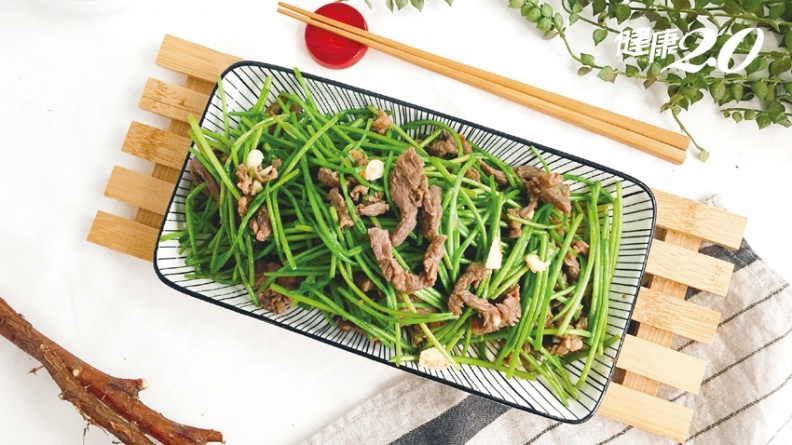 高CP值蔬菜水蓮!低卡高纖 減肥、消水腫必吃