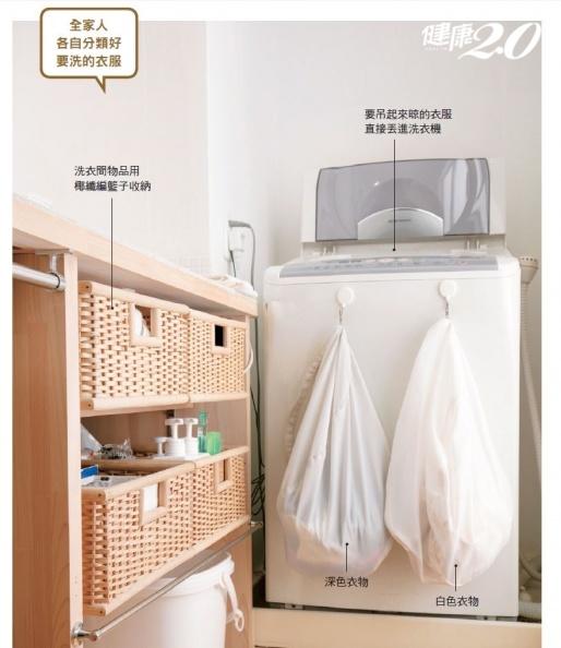 洗衣服、收衣服好麻煩?日本主婦都在學「最輕鬆的省事秘訣」