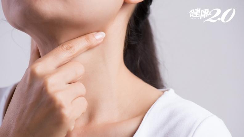 甲狀腺癌專找女性!發生率比男性高3倍 6大早期徵兆一定知道