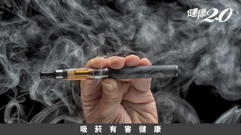 電子煙比香菸更毒!她先生抽電子煙 才57歲肺炎死亡