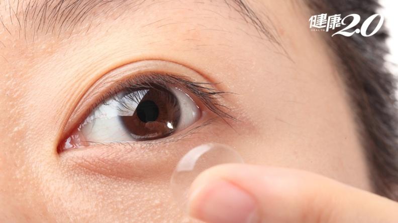 買隱形眼鏡只看度數大錯特錯!5步驟預防眼睛乾澀