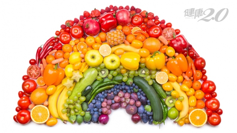 7色蔬果天然解藥!一次搞懂對抗癌症、慢性病的神奇植化素