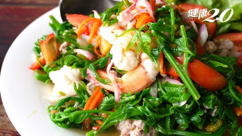 山蘇、過貓、龍鬚菜現在正對時 吃一口野菜就是吃進滿滿抗氧化力