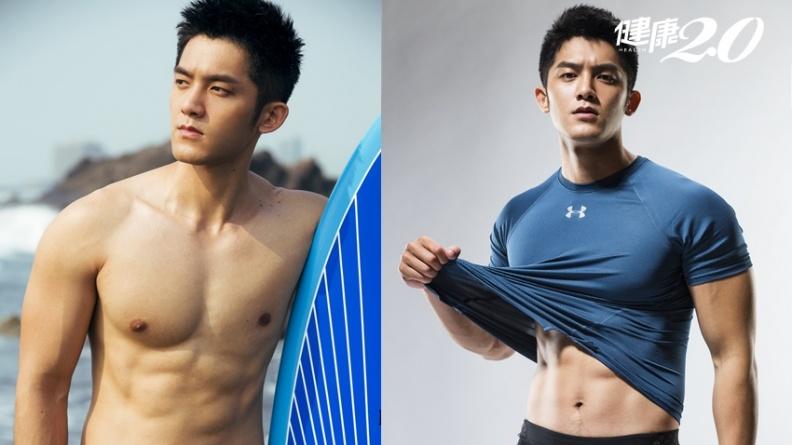 男女都可練!「巨胸男神」林冠宇2招教你練出大肌肌