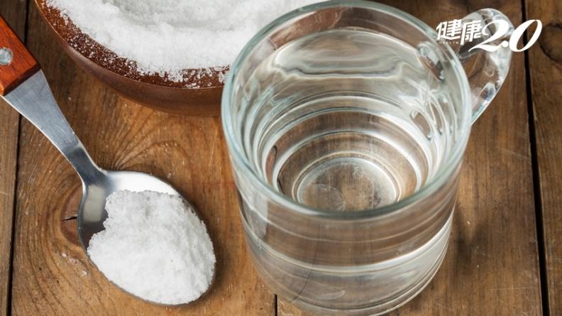 5種蔬菜對症解便!早晨空腹喝「淡鹽水」效果更好