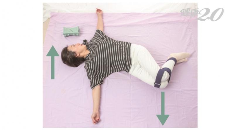 7旬老婦天天練「綁腿運動」 拐腳走路變行動自如