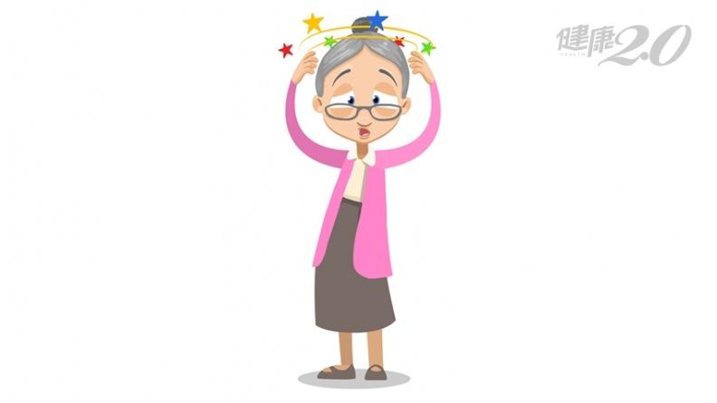 老人眩暈別輕忽!可能這些嚴重疾病 腦中風、腦腫瘤、心肌梗塞…