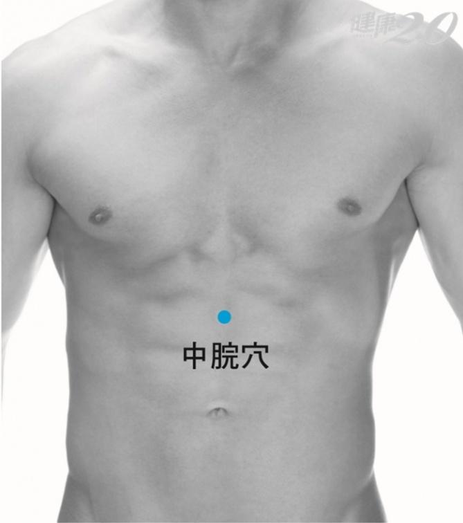 「胃食道逆流上衝」按4穴位改善,其中1穴還助長壽