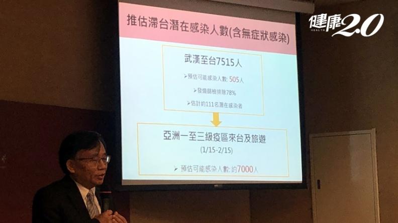 台大公衛學者預估:國內新冠肺炎感染人數恐高達7000人