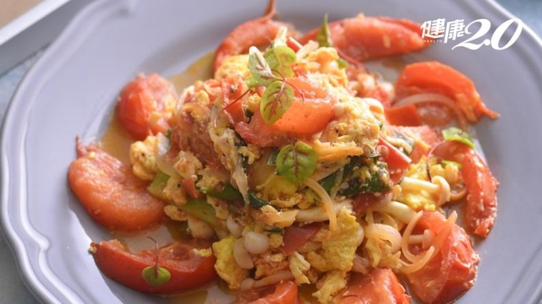 1道家常料理活化腦心血管!番茄炒蛋這樣做遠離失智