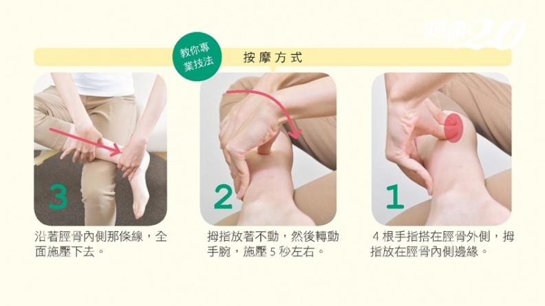 腰痛病因可能不在腰!小腿後側按5秒 改善內臟功能、止痛更有效