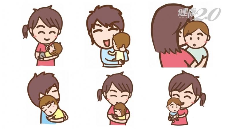寶寶怎麼抱才不哭鬧?哪種抱法最不安全?兒童職能治療師解析6種抱法