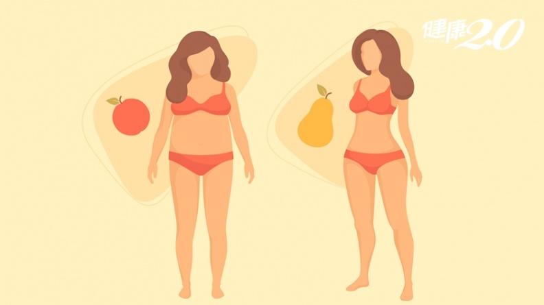 你是哪種肥胖?這種人痛風、高血壓、糖尿病、脂肪肝風險大增