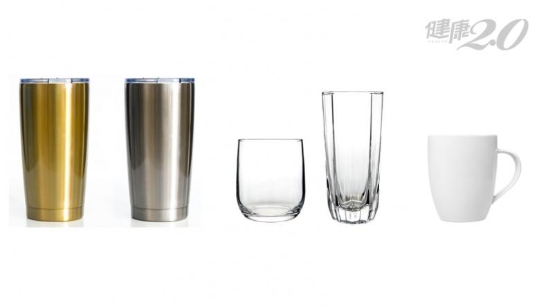 玻璃杯、不鏽鋼杯、陶瓷馬克杯 哪種是最健康的環保杯選擇?