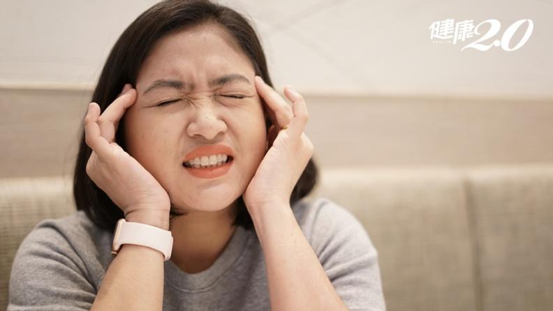 10萬人天天頭痛!4種女性最容易偏頭痛 愛吃美食竟也可能是原因