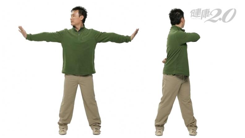 1招緩解落枕!「轉動頭部、扭動脊柱」活絡血循 肩頸僵硬也改善