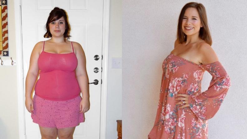 她一年成功減重57公斤!「瘦身女王」只靠1法則 餐餐吃飽又不發胖