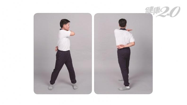 瘦小腹最有效!「扭腰甩手」瘦腰腹 改善腹部肥胖、全身僵硬痠痛