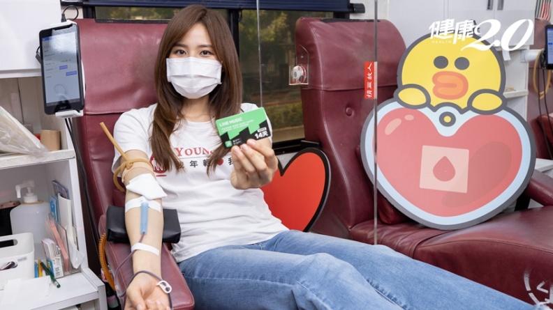 血液庫存量只剩5.2天!A型、B型、O型、AB型都缺 熊大、兔兔捐血車上路催捐血