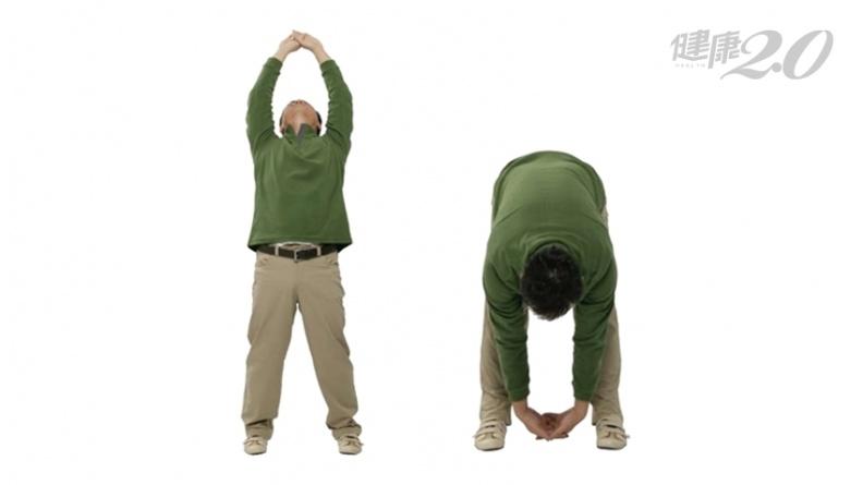 舒緩腰痠背痛最有效!八段錦「兩手攀足固腎腰」助排毒 強化骨質泌尿生殖功能