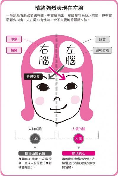 怕對方心口不一?真情緒只藏這「半張臉」 跟著大師讀臉術就能看透