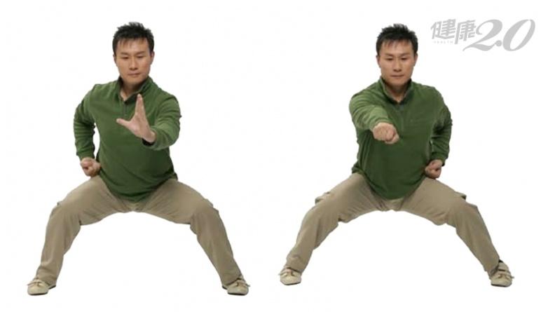 1招強化筋骨!八段錦「攢拳怒目增氣力」調整虛弱 意守1穴位改善肺功能
