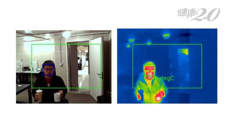 拿熱咖啡、戴口罩也能量測出正確體溫!國衛院研發新一代紅外線熱像儀 快速偵測人臉量體溫