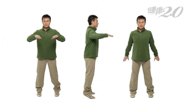1招八段錦百病消!「顛腳振全身」增強身體抵抗力 刺激後谿穴改善落枕、腰痛