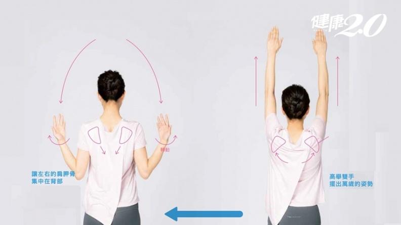 錯誤姿勢讓你臉變大!1招「肩胛骨運動」秒瘦臉、消除雙下巴