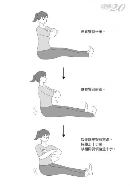 50歲後當心尿失禁!「用臀走路」活化骨盆底肌群 她練2周不再漏尿