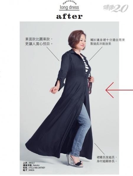 1分鐘土味大嬸變身時尚熟女!這種顏色服裝穿搭 立刻顯瘦5公斤