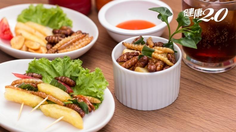 吃昆蟲救地球?無印良品開賣蟋蟀仙貝 台灣也有3種高營養隱藏版昆蟲美食