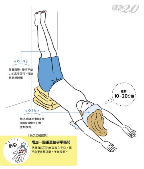 睡前做「晚安瑜伽」!立即進入深層睡眠 強化內臟改善腸胃虛弱、腳部腫脹