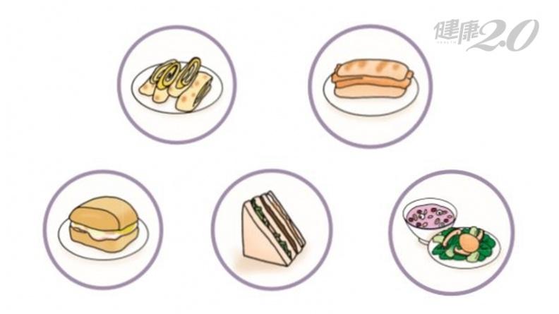蛋餅、燒餅油條、三明治、清粥小菜 吃哪種早餐最能減肥?